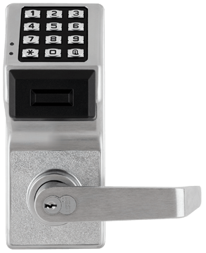 Trilogy alarm commercial lock
